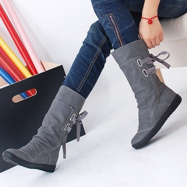 Women's Shoes - 2018 Women's Fashion Elegant Short Casual Boots