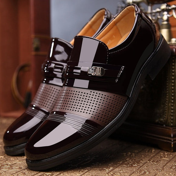 Shoes - New Arrival Fashion Men's Leather Business Dress Shoes