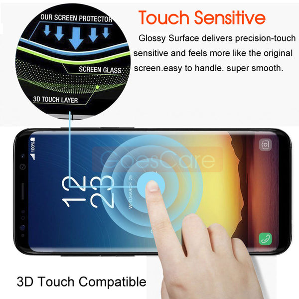 Full Protective Curved Tempered Glass For Samsung