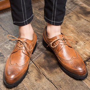 Shoes - 2019 Spring Leather Oxfords Formal Shoes
