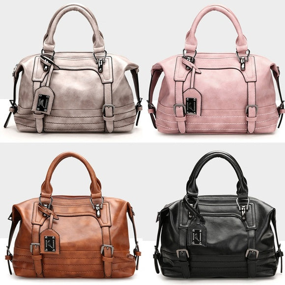 Bag - Fashion Women PU Leather Tote Satchel Purse
