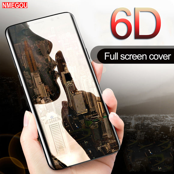 Phone Accessories - 6D Curved Glass Full Cover Case For Samsung Galaxy