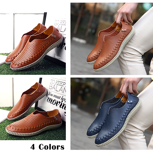 Genuine Leather Men's Driving Shoes