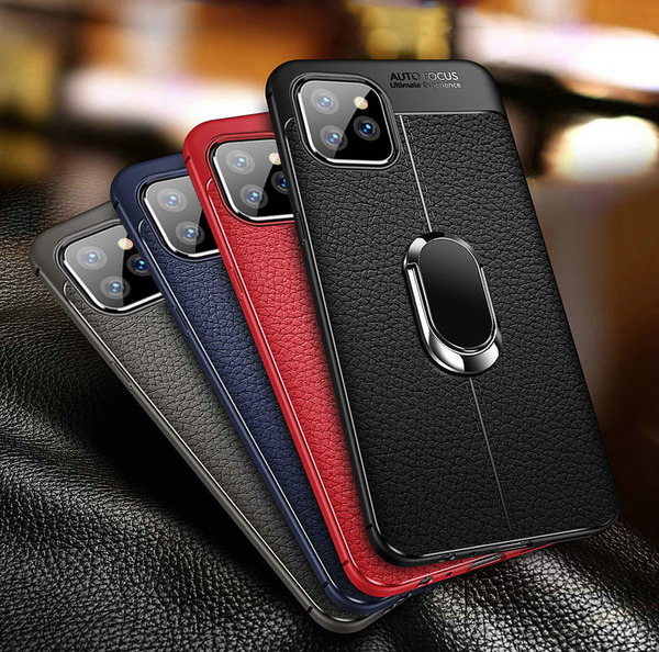 Case & Strap - Luxury Shockproof Retro Soft Silicone Edge Back Case For iphone 11 Pro Max X XR XS 7 8 6 6s PLus
