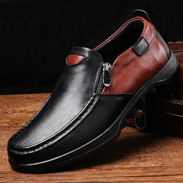 Kaaum Men's Genuine Leather Shoes Loafers
