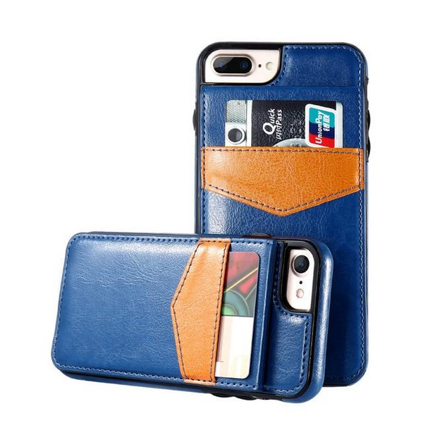 Phone Case - Luxury Flip Leather Wallet Cases For iPhone X 7 6 6s 8 Plus (Buy one Get one 30% OFF)-New