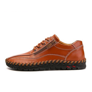 Shoes - Big Size Genuine Leather Casual Men Shoes
