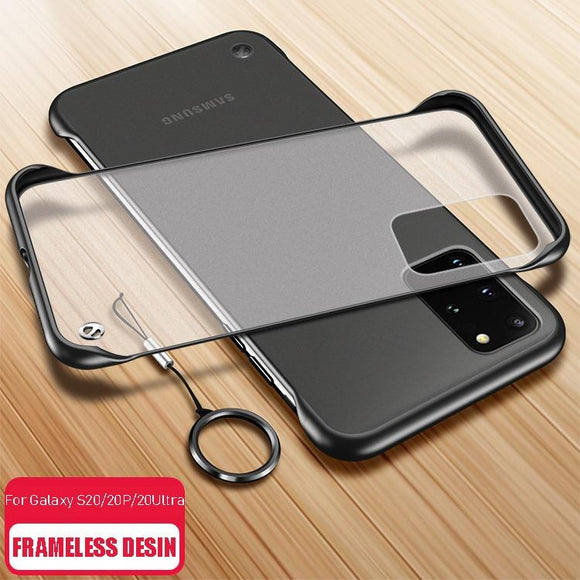 Kaaum Ultra Thin Frameless PC Cases for Samsung Galaxy S20/10