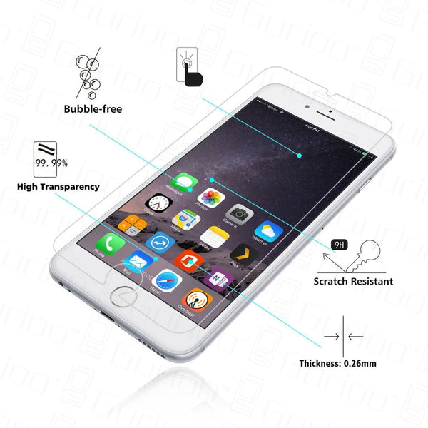 Screen Protector - 9H Premium Tempered Glass Screen Protector for iPhone X/XR/XS