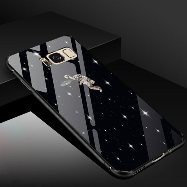 Phone Accessories - Luxury Transparent Tempered Glass Cases For Samsung Galaxy Note 8 S8 S8 Plus(Buy 2, second one 30% off)