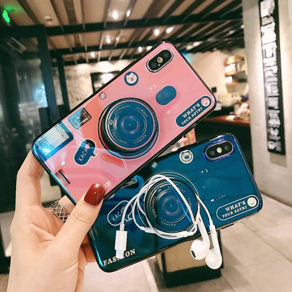 iPhone Case - 2018 New arrival Cute Camera Kickstand Phone Case For iPhone