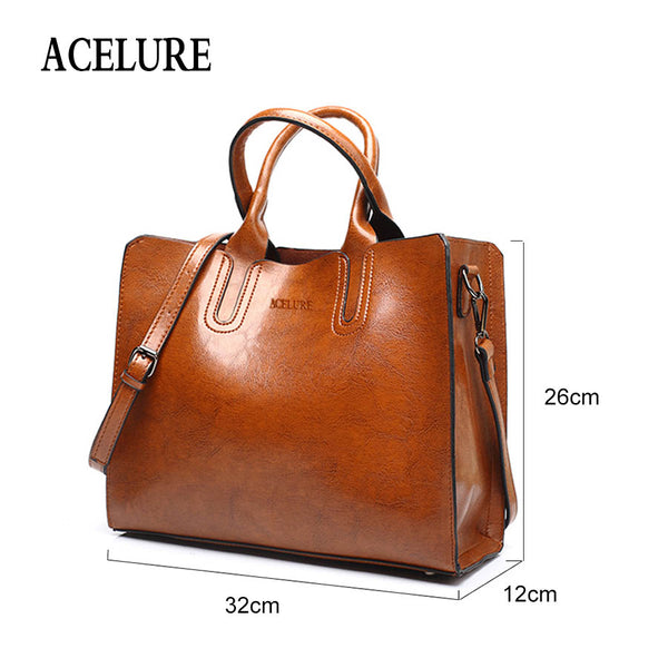 Bags - New Luxury Casual Leather Large Spanish Handbag Shoulder Bag