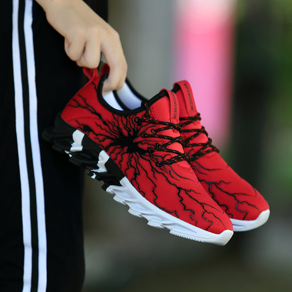 Men Fashion Lace Up Sports Shoes