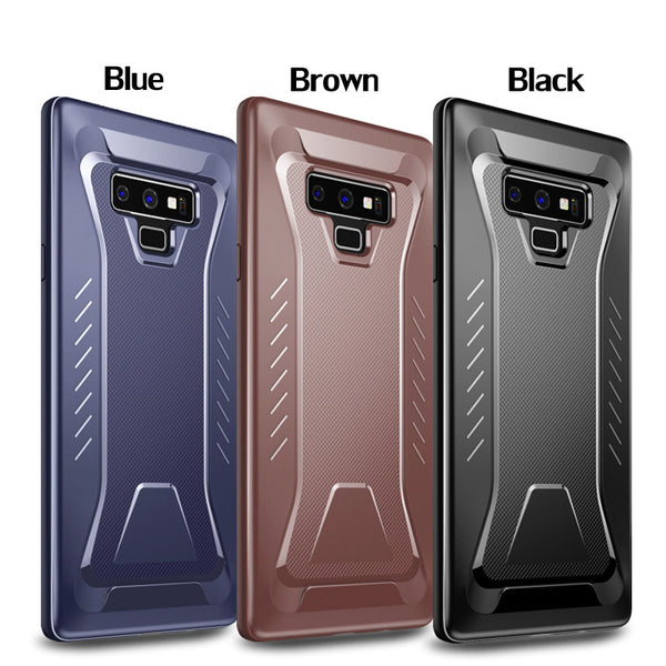 Full Protective Soft TPU Case For Samsung Galaxy S7 Edge S8 S9+ Note 8 9