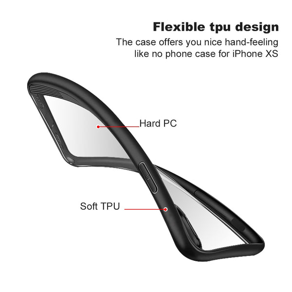 Phone Case - Clear TPU PC Silicone Bumper Transparent Phone Cover For iPhone