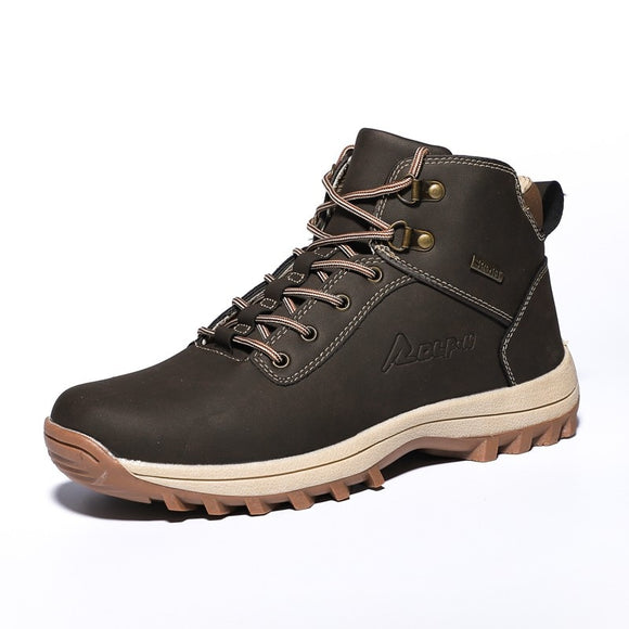 Kaaum 2020 New Men Women Winter Outdoor Warm Boots