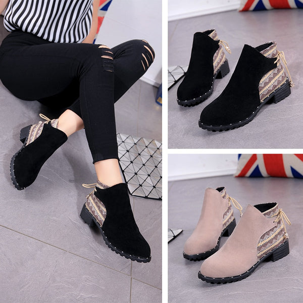 Women's Shoes - High Quality Fashion Short Boot