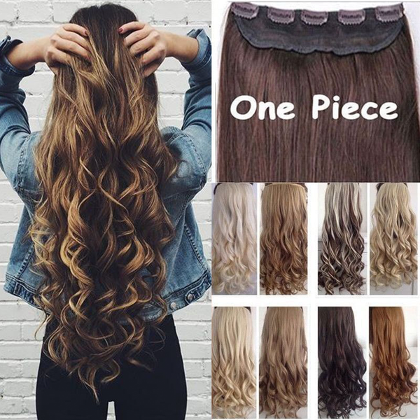 Hair Extensions - 2018 New Fashion Looks Natural Clip in Hair Extensions( Buy 2 Got 5% off, 3 Got 10% off Now )
