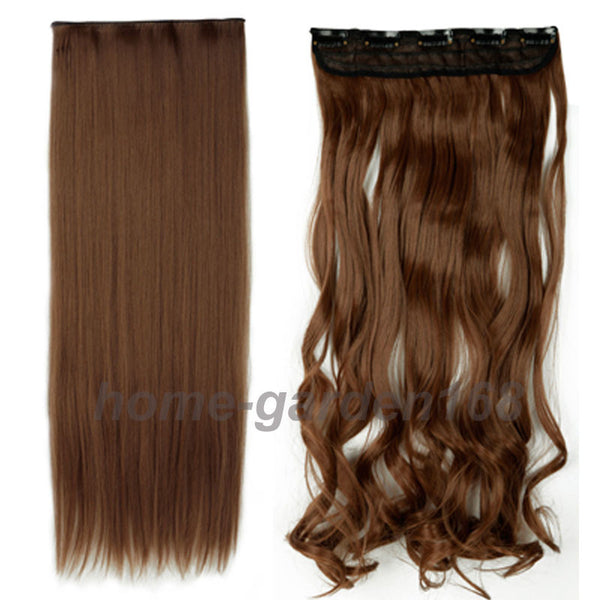Clip extensions real hair