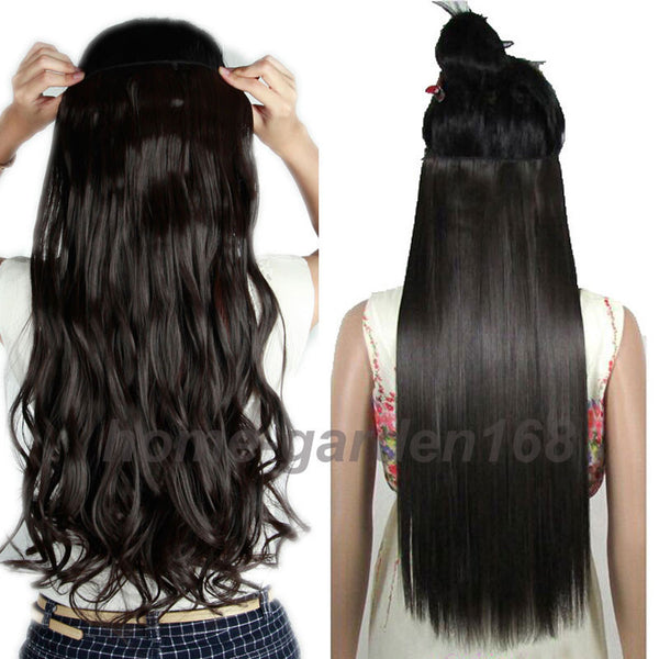 Hair Extensions - 2019 New Fashion Looks Natural Clip in Hair Extensions( Buy 2 Got 5% off, 3 Got 10% off Now )