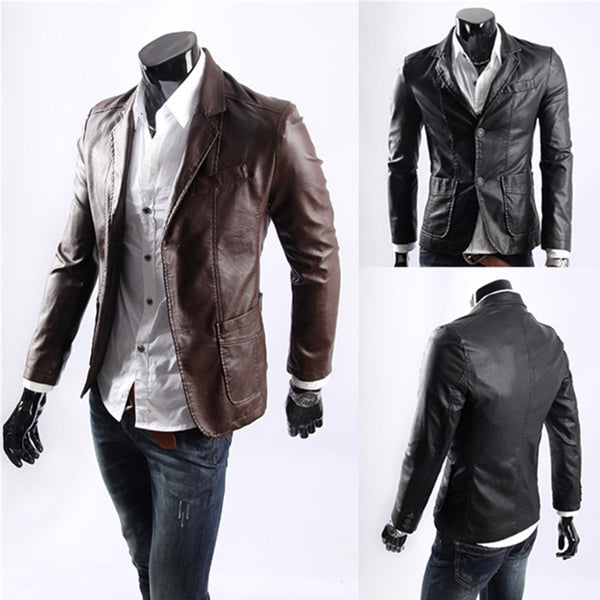 Plus Size 7XL New Style Men's Leather Jackets