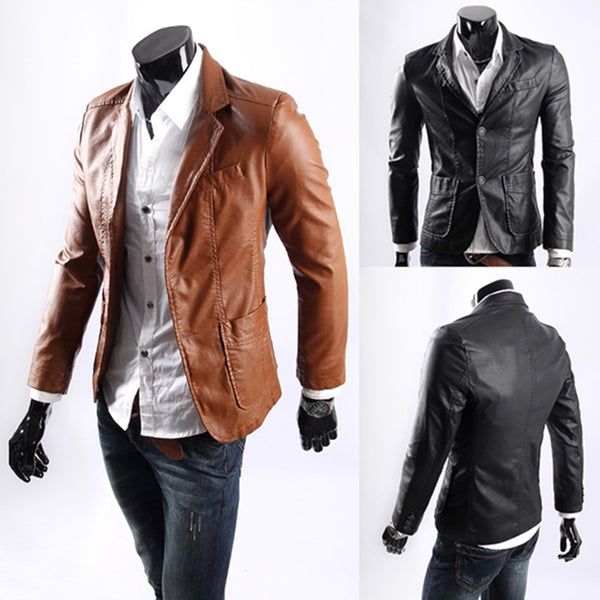 Plus Size 7xl New Style Men S Leather Jackets Kaaum