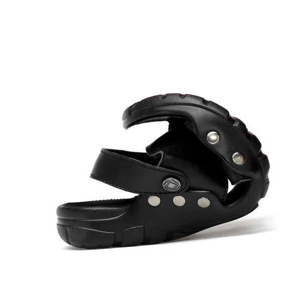 Shoes - 2018 New Men's High Quality Comfortable Rivet Sandals