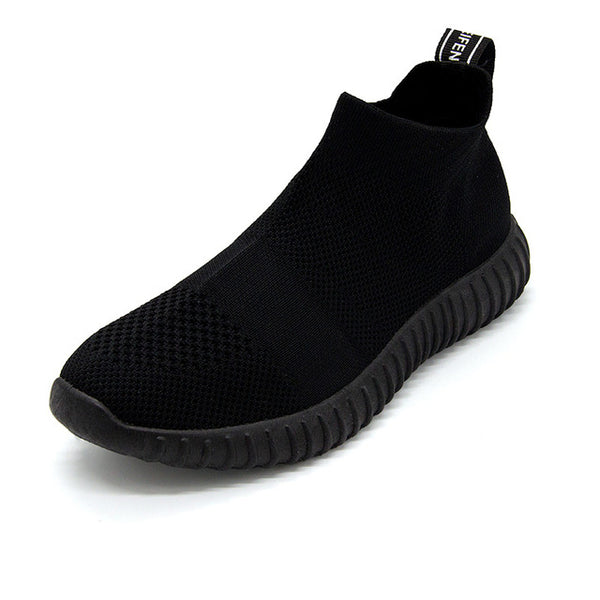 Running Shoes - Athletic Socks Breathable Walking Slip On Footwear