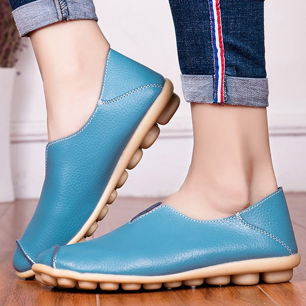 Women's Shoes - Plus Size New Fashion Comfort Casual Light PU Leather Shoes
