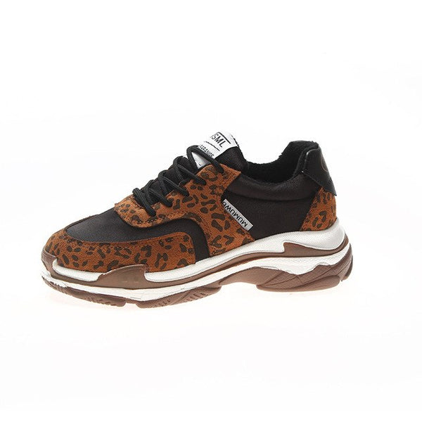 Shoes - New Daddy Leopard Plush Women Shoes