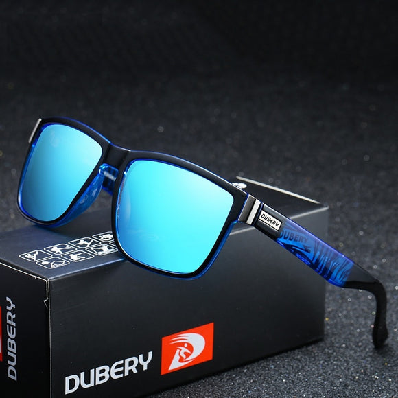 Brand Designer Classic Driving Square Polarized Sunglasses