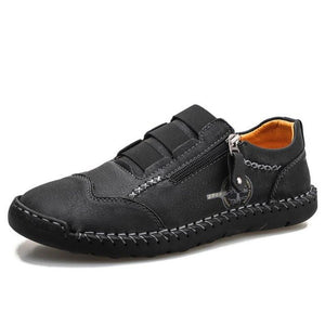 Genuine Leather Fashion Men's Driving Shoes