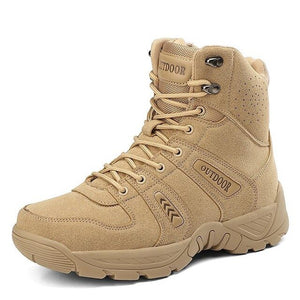 Kaaum Brand Men Military Force Tactical Desert Boots