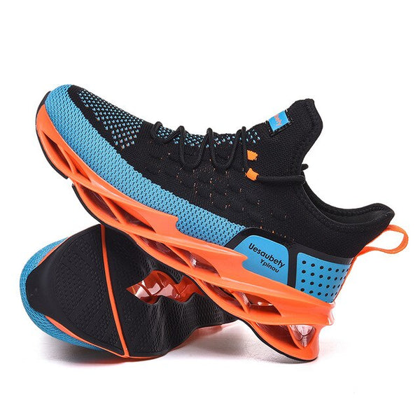 Kaaum Breathable Men Running Blade Outdoor Sport Athletic Professional Training Sneakers