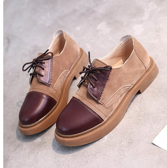 British Style Spring Autumn Casual Vintage Oxford Shoes