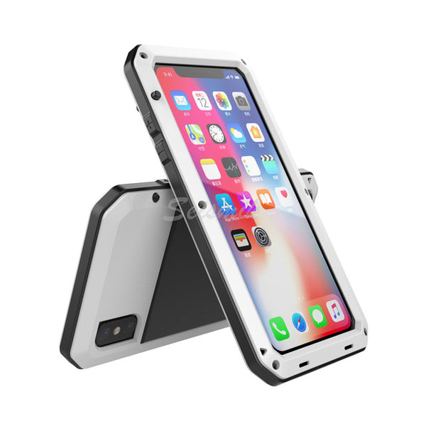 Heavy Duty Protection Doom Shockproof Dustproof Back Cover For iPhone X/XS/XSMax