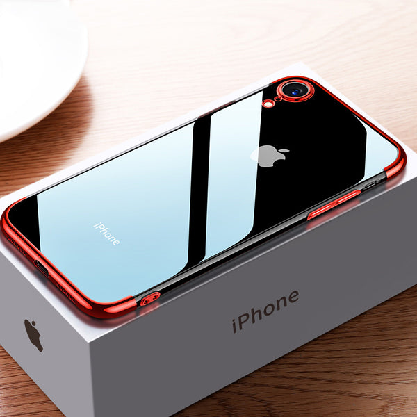 check out 1ea25 1bc45 Phone Case - Luxury Ultra Thin Plating Shing Transparent Soft TPU Silicone  Phone Case For iPhone X/XR/XS/XS Max