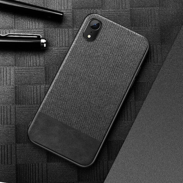 sports shoes 7feb8 9a0fd Phone Case - Luxury Ultra Thin Cloth Fabric Soft TPU Protective Phone Case  For iPhone XS/XR/XS Max 8/7 Plus