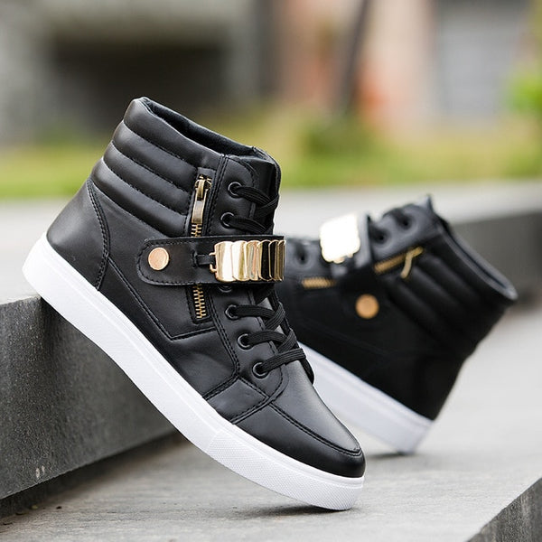 da109c3554fd Men's Shoes - Men's Fashion Soft High-Top Sneakers