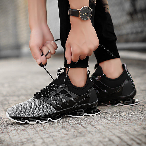 Men's Shoes - Brand Men Casual Breathable Blade Style Sneakers