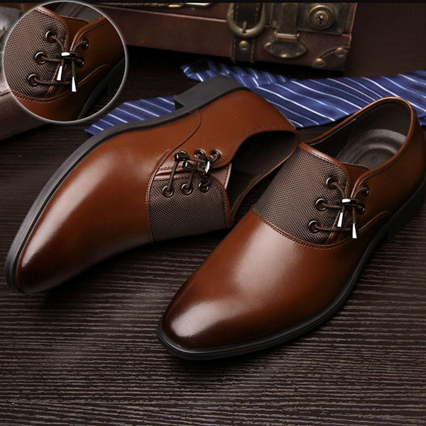 Shoes - New 2018 Leather Dress Shoes For Men Formal Shoes