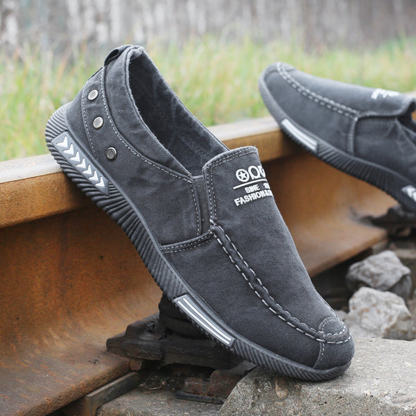 Men's Casual Shoes - New 2018 Plimsolls Breathable Male Footwear(Buy 2 Get 5% off, 3 Get 10% off Now)