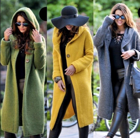 Clothing - Ladies Fashion Faux Fur Hooded Coat(Buy 2 Got 5% off, 3 Got 10% off Now)