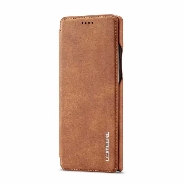 Flip Stand PU Leather Business Wallet Case For Samsung 7 S8 S9+ Note 8 9
