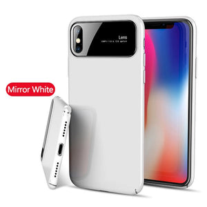 Phone Case - Luxury Smooth Mirror Hard PC Protective Phone Case For iPhone X/Xr/XS/XS Max