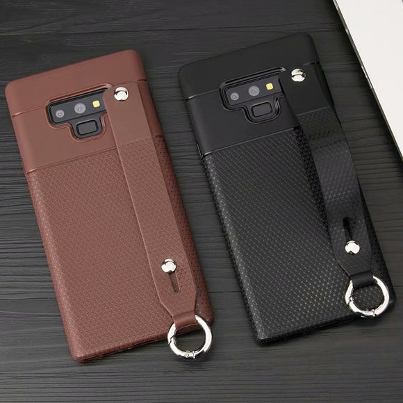 Phone Case - Ultra-thin Soft Silicone Case for Samsung Galaxy Note 9 with Hand Strap
