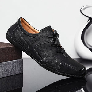 Men Handmade Loafers Rome Shoes