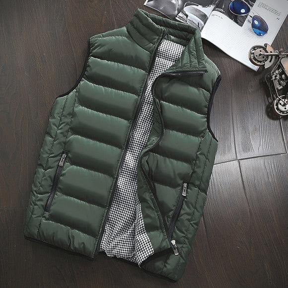 Casual Mens Jacket Sleeveless Vest Winter(BUY 2 GOT 10% OFF, 3 GOT 15% OFF)