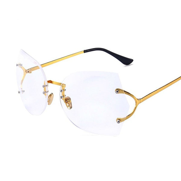 Sunglasses - Gradient Elegant Optics Rimless Sunglasses