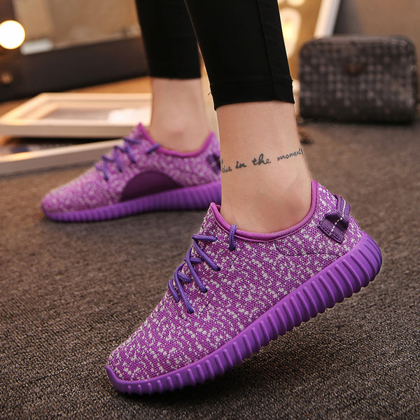 Women's Shoes - Ultra-light Damping Jogging Outdoor Athletics Breathable Sports Walking Sneakers